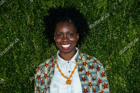 Adepero Oduye attends Through Her Lens: The Tribeca Chanel Women's Filmmaker Program Luncheon at Locanda Verde, in New York