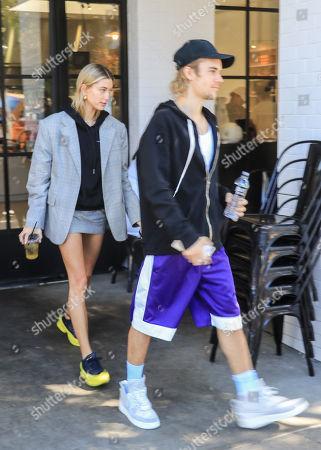 Justin Bieber and Hailey Baldwin
