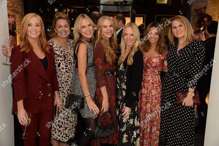 Sarah-Jane Mee, Sinclair Sellers, Chrissie Reeves, Caro Greenwood, Rosie Nixon, Katy Wickremesinghe and Susie Richardson