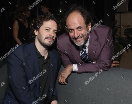 Edgar Wright and Director Luca Guadagnino