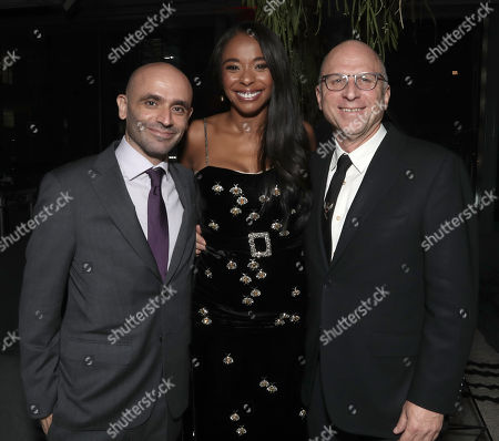 Producer Josh Godfrey, Producer Kimberly Steward and Amazon Studios Head of Marketing and Distribution Bob Berney