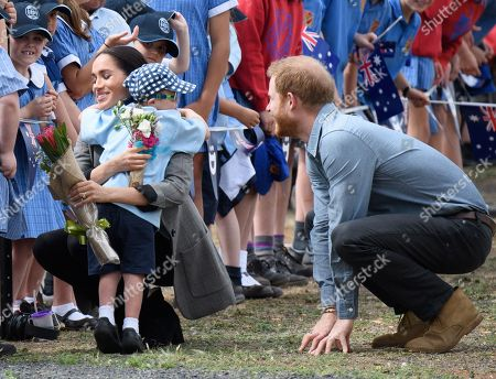 Prince Harry and Meghan Duchess of Sussex tour of Australia, Day 2