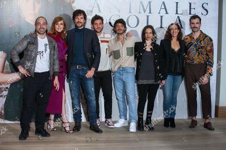 Mario Tardon, Natalia de Molina, Daniel Grao, Jota Linares, Ignacio Mateo, Natalia Mateo, Beatriz Bodegas, Borja Luna