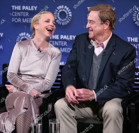 Alicia Goranson and John Goodman