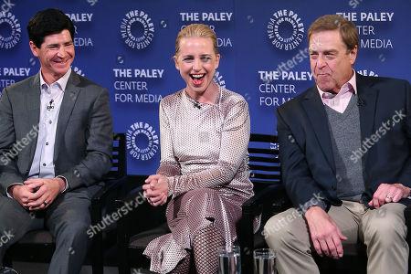 Michael Fishman, Alicia Goranson and John Goodman