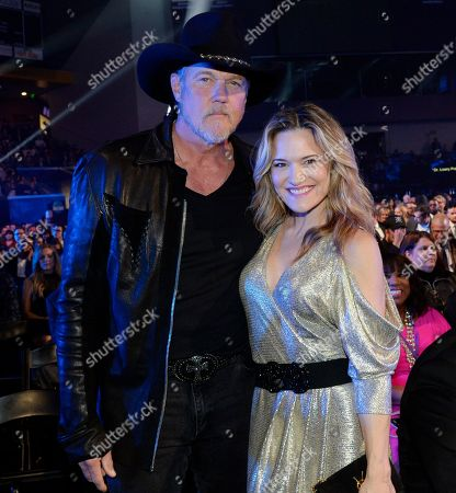 Singer/Songwriter Trace Adkins and Actress Victoria Pratt
