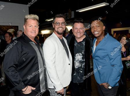 Singer/Songwriters Gary Jason Crabb, Jay DeMarcus of Rascal Flatts and Michael Tait of Newsboys