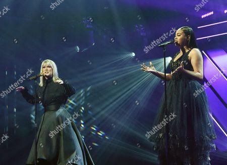 Singer/Songwriters Natalie Grant and Koryn Hawthom