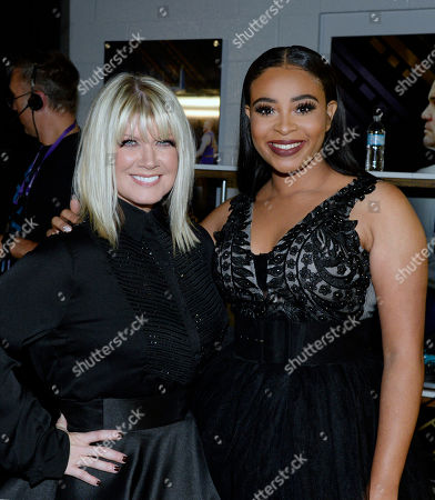 Stock Picture of Singer/Songwriters Natalie Grant and Koryn Hawthom