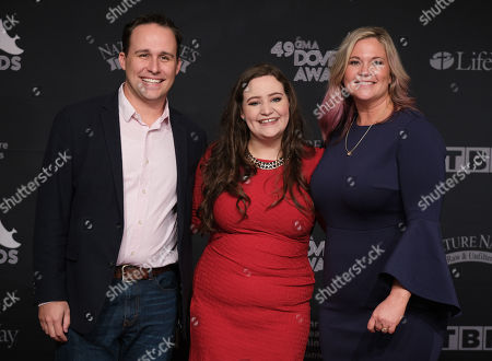 Editorial photo of 49th Annual Dove Awards, Arrivals, Nashville, USA - 16 Oct 2018