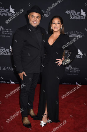Israel Houghton and Adrienne Houghton