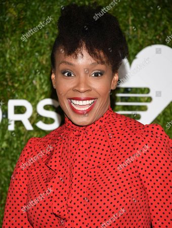 Amber Ruffin attends the God's Love We Deliver Golden Heart Awards at Spring Studios, in New York