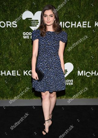 Emily Robinson attends the God's Love We Deliver Golden Heart Awards at Spring Studios, in New York