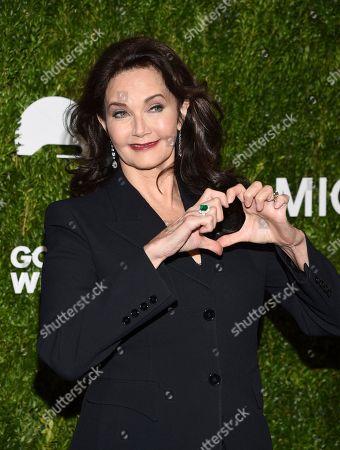Lynda Carter attends the God's Love We Deliver Golden Heart Awards at Spring Studios, in New York