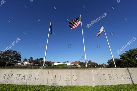 Editorial picture of California at a Crossroads Changing Orange County, Yorba Linda, USA - 10 Oct 2018