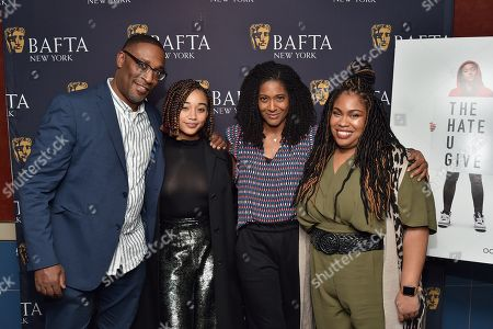 George Tillman Jr., Amandla Stenberg, Timberly Whitfield, Angie Thomas