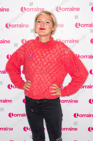 Editorial photo of 'Lorraine' TV show, London, UK - 17 Oct 2018