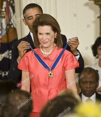 Editorial photo of Medal of Freedom Award Presentation at the White House, Washington DC, America - 12 Aug 2009