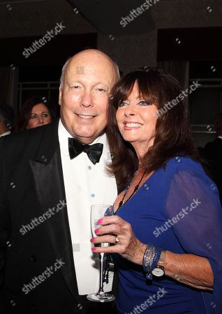 Lord Fellowes and Vicki Michelle