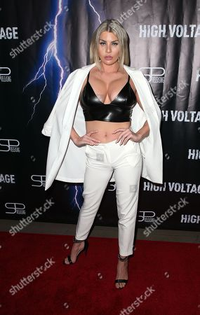 Editorial picture of 'High Voltage' film premiere, Los Angeles, USA - 16 Oct 2018