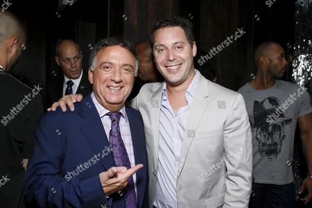 Founder & CEO of Planet Hollywood Inc. Robert Earl and CAA's Michael Kives