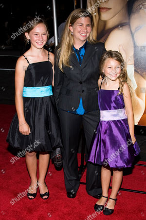 Stock Picture of Hailey and Tatum McCann with their mother