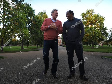 Glenn Hoddle And Paul Ince Former Footballers . 05/10/17: Picture Kevin Quigley/daily Mail.