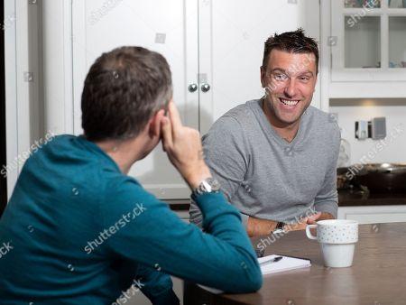 Rickie Lambert. Footballer Rickie Lambert Interview With Matt Lawton Picture By Ian Hodgson/daily Mail.