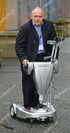 Stock Image of The Rt Hon Robert Halfon MP - Conservative Party Conference At Manchester Central Convention Centre Greater Manchester. 1/10/17.