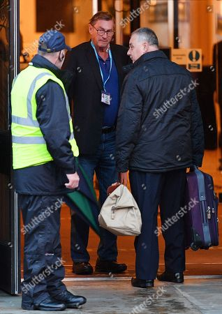 Lord Ashcroft (centre) - Conservative Party Conference At Manchester Central Convention Centre Greater Manchester. 1/10/17.