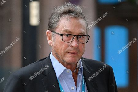 Stock Image of Lord Ashcroft. - Conservative Party Conference At Manchester Central Convention Centre Greater Manchester.