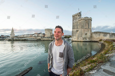 Ryan Lamb. : Rugby Feature La Rochelle France: Ryan Lamb Relaxing Around La Rochelle Harbour: