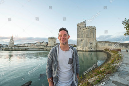 Ryan Lamb Relaxing Around La Rochelle Harbour. Rugby Feature La Rochelle France.
