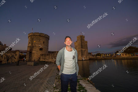 Ryan Lamb. Spt_gck_101017: Rugby Feature La Rochelle France: Ryan Lamb Relaxing Around La Rochelle Harbour:.