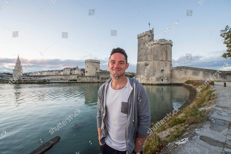 Ryan Lamb. : Rugby Feature La Rochelle France: Ryan Lamb Relaxing Around La Rochelle Harbour