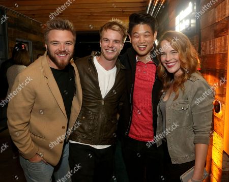 Brett Davern, Graham Rogers, Ki Hong Lee, Katie Leclerc. Brett Davern, from left, Graham Rogers, Ki Hong Lee and Katie Leclerc at the Microsoft Surface Anything But Ordinary event at The Microsoft Lounge, in Culver City, Calif