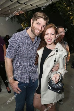Liam McIntyre, Erin Hasan. Liam McIntyre, left, and Erin Hasan attend the Microsoft Surface Anything But Ordinary event at The Microsoft Lounge, in Culver City, Calif