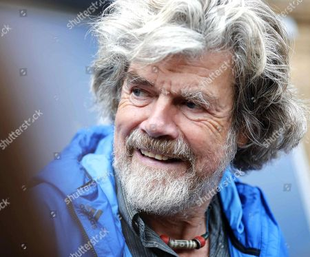 Italian alpinist Reinhold Messner upon arrival in Oviedo, Spain, 17 October 2018. Messner will receive the Princess of Asturias Award for Sports on 19 October 2018. The Princess of Asturias Awards are given every year to personalities or organizations from all around the world who make significant achievements in the sciences, arts, literature, humanities and sports.