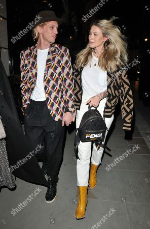 Jamie Campbell Bower and Ruby Quilter