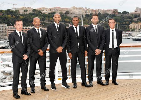 Editorial image of AS Monaco presents new headcoach Thierry Henry - 17 Oct 2018