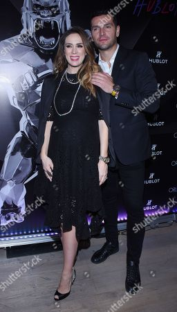 Martin Fuentes and Jacqueline Bracamontes