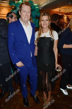 Stock Photo of Tom Baker Bowles and Sara Parker Bowles