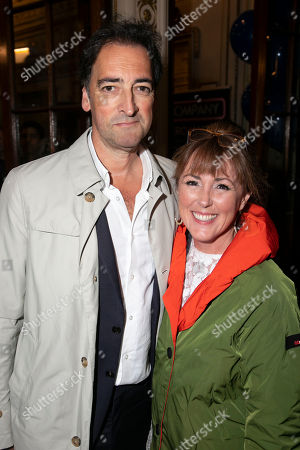 Alistair McGowan and Charlotte Page
