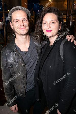 Stock Photo of Andrew Scott and Hannah James Scott