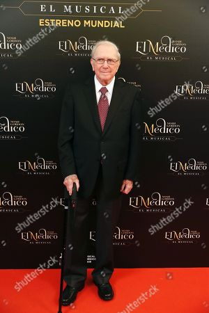 Editorial picture of The Physician musical world premiere, Madrid, Spain - 17 Oct 2018