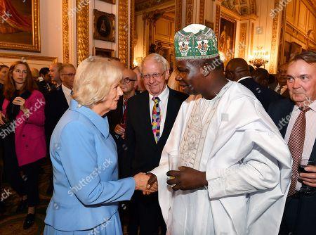 150th Royal Commonwealth Society anniversary celebration, Lancaster House, London