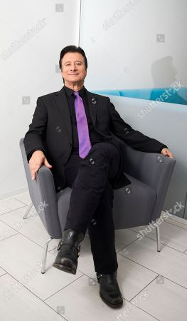 """Stock Picture of This photo shows singer Steve Perry posing for a portrait in New York to promote """"Traces,"""" his first album almost 25 years"""