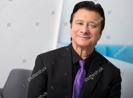 Editorial photo of Steve Perry Portrait Session, New York, USA - 08 Oct 2018