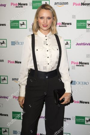 Editorial picture of Pink News Awards, Church House, London, UK - 17 Oct 2018