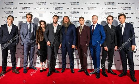 Alastair MacKenzie, Chris Pine, David Mackenzie, Aaron Taylor-Johnson, Billy Cowie, Tony Curran and Chris Fulton